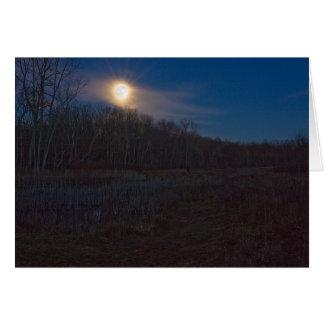 Moon 12/1/09 card
