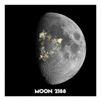 Moon 2188 poster