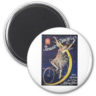 Moon 2 Inch Round Magnet