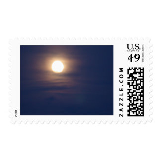 Moon_48 Postage Stamps