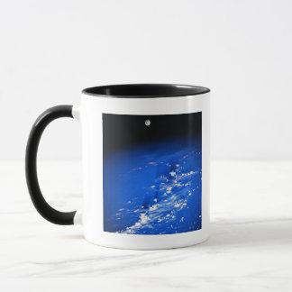Moon above Earth Mug