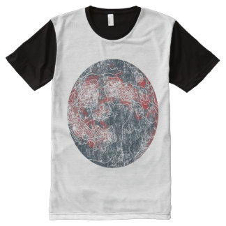 moon All-Over-Print T-Shirt
