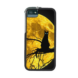 Moon and cat iPhone 5/5S case