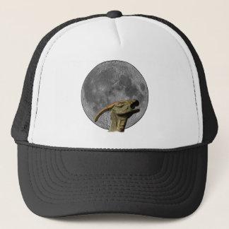 Moon and Charonosaurus Trucker Hat