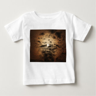 Moon and Cirrus Clouds Baby T-Shirt
