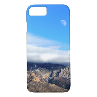 Moon and Clouds Over Sandias iPhone 7 Case