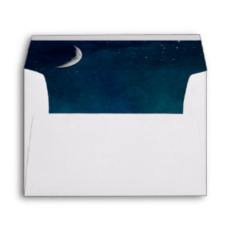 Moon And Cloudscape Envelope