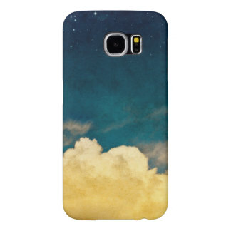 Moon And Cloudscape Samsung Galaxy S6 Cases