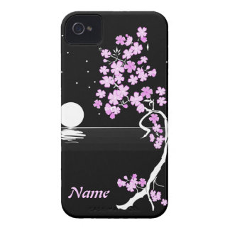 """Moon and Flowers"" iPhone Case iPhone 4 Covers"