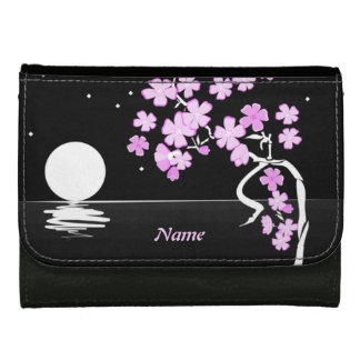 """Moon and Flowers"" Wallet"