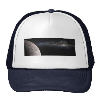 Moon and Galaxy. Hat