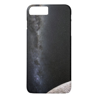 Moon and Galaxy. iPhone 8 Plus/7 Plus Case