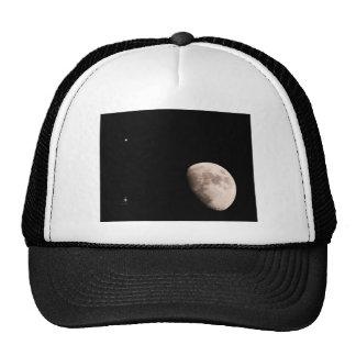 Moon and Jupiter Mesh Hats