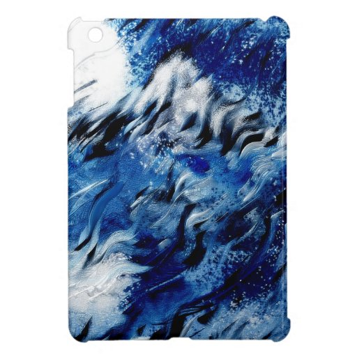 Moon and moutain cover for the iPad mini