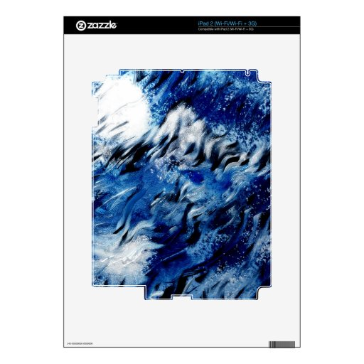 Moon and moutain skin for the iPad 2