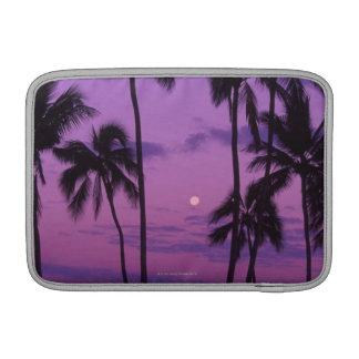 Moon and Palm Tree MacBook Air Sleeves