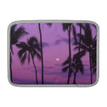 Moon and Palm Tree MacBook Air Sleeves