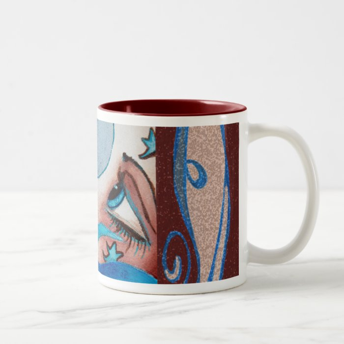 Moon and Sea mug