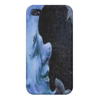 MOON AND STAR BY LIZ LOZ iPhone 4 CASES