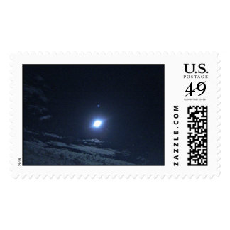Moon and Star Stamp