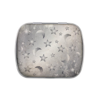 Moon and Stars Jelly Belly Candy Tins