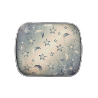Moon and Stars Jelly Belly Tin