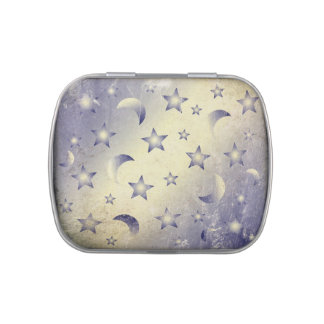 Moon and Stars Jelly Belly Tins
