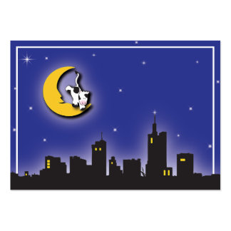 Moon and Stars Information Card Business Card