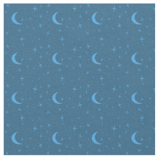 Star pattern fabric zazzle for Moon pattern fabric