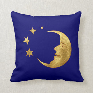 Moon and Stars Throw Pillows