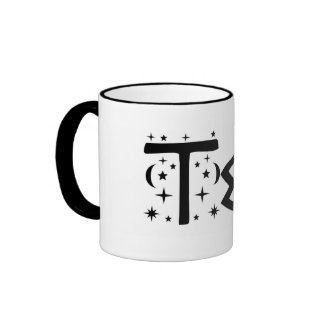 Moon and Stars Tea Mug by Pisces Moon