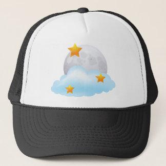 Moon and Stars Trucker Hat