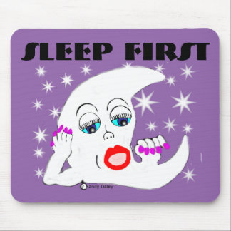 Moon and The Stars...and Sleep is What We Need Mouse Pad