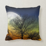 MOON AND TREE PILLOW