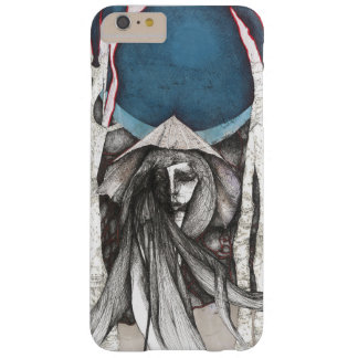 Moon and Umbrella Barely There iPhone 6 Plus Case
