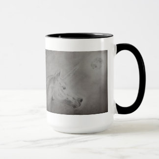 Moon and unicorn (Lune et licorne) Mug