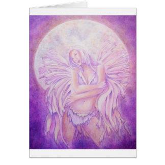 Moon Angel Fairy Card