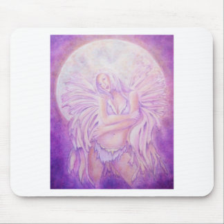 Moon Angel Fairy Mouse Pad