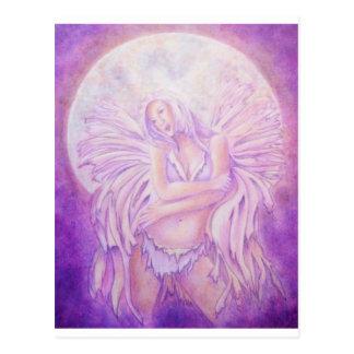 Moon Angel Fairy Postcard