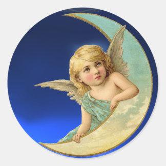 MOON ANGEL STICKER