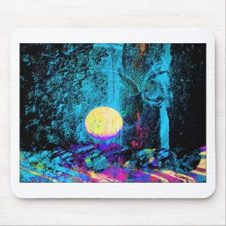 Moon Art | Purple Moon Mouse Pad