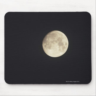 Moon at night mouse pad