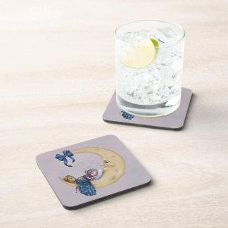 Moon Baby Elf Drink Coaster