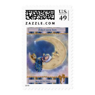 Moon Baby Elf Stamps