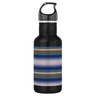 Moon Baby Stripes Stainless Steel Water Bottle