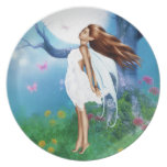 Moon Bathing Party Plate