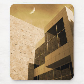 Moon Beams Mouse Pad