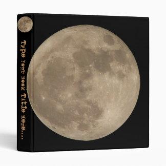 Moon Binder Book Full Moon Avery Binder Gifts