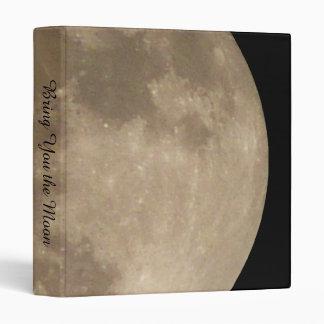 Moon Binder Full Moon Book Binder Custom Moon Gift