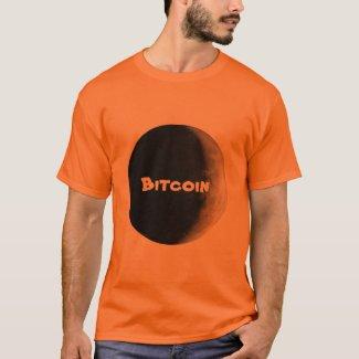 Moon Bitcoin BTC crypto t shirt